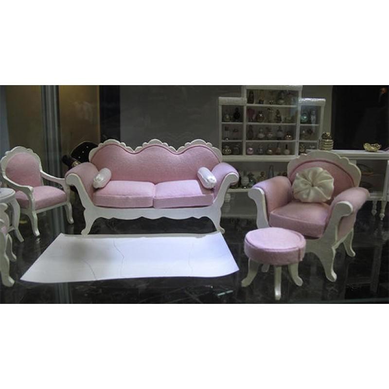 İşte minyatür mobilyalar