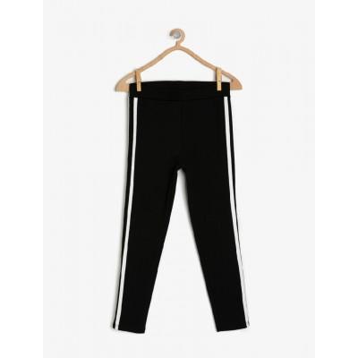 Pantolon Görünümlü Slim Fit Tayt